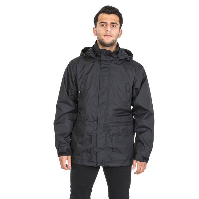 Kittridge Men's Waterproof Jacket in Black