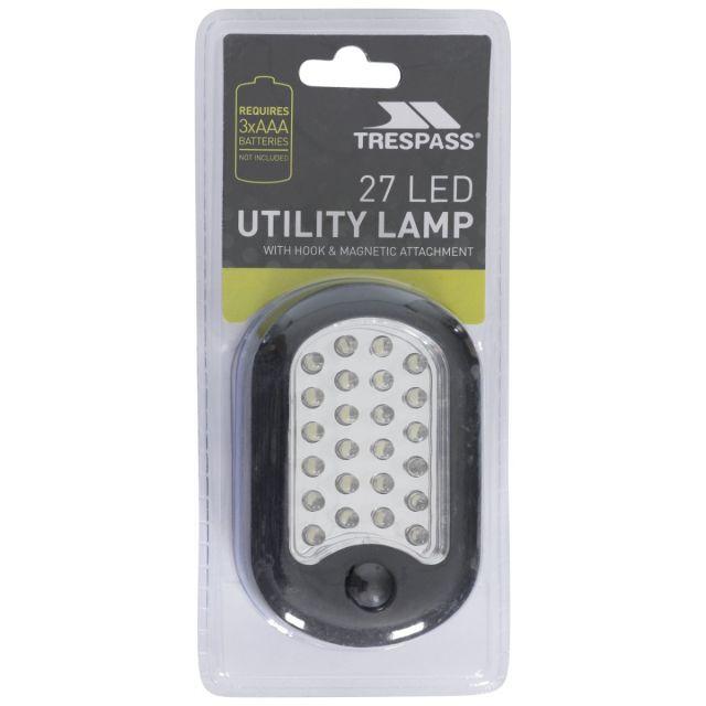 110lm LED Hanging Lamp in Black
