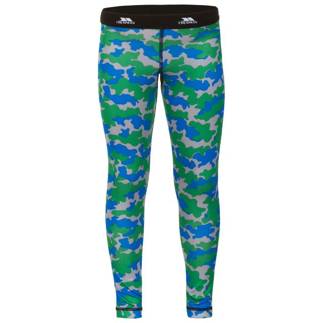 Klutz Kids Base Layer Pants in Blue