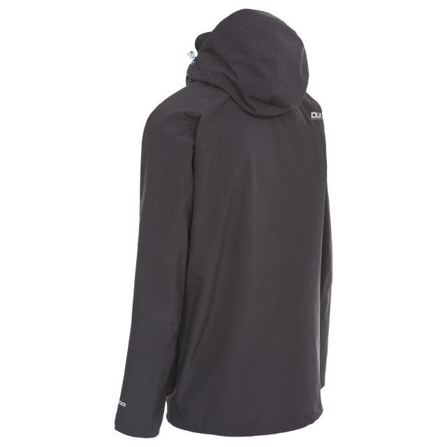 Kumar Men's DLX High Performance Waterproof Jacket in Black