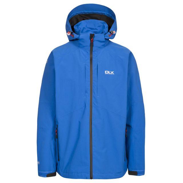 Kumar Men's DLX High Performance Waterproof Jacket in Blue