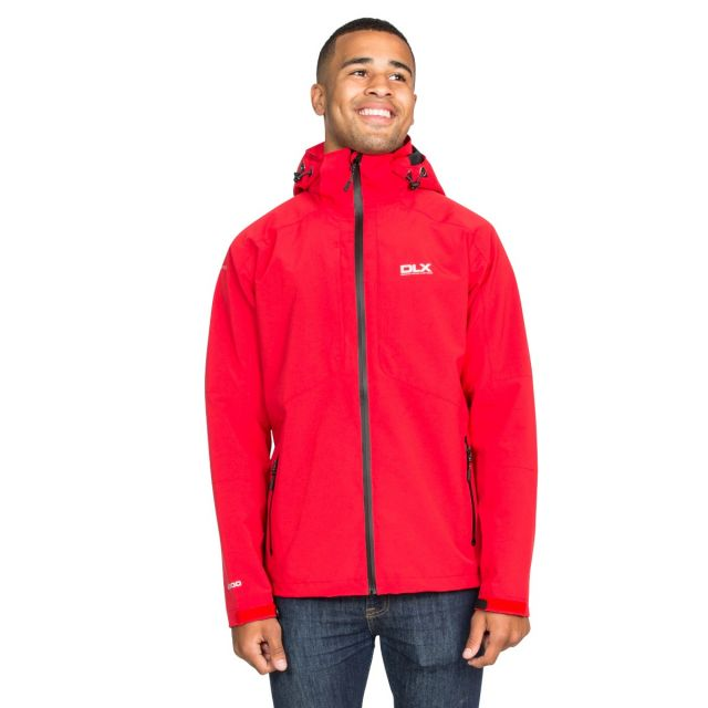 Kumar Men's DLX High Performance Waterproof Jacket in Red