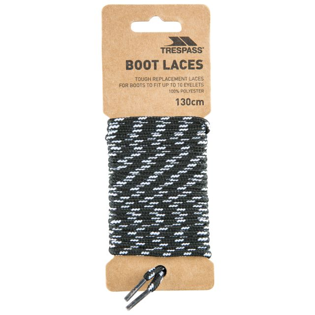Walking Boot Laces 130cm - BLK