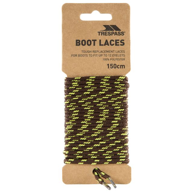 Tough Walking Boot Laces 150cm in Brown