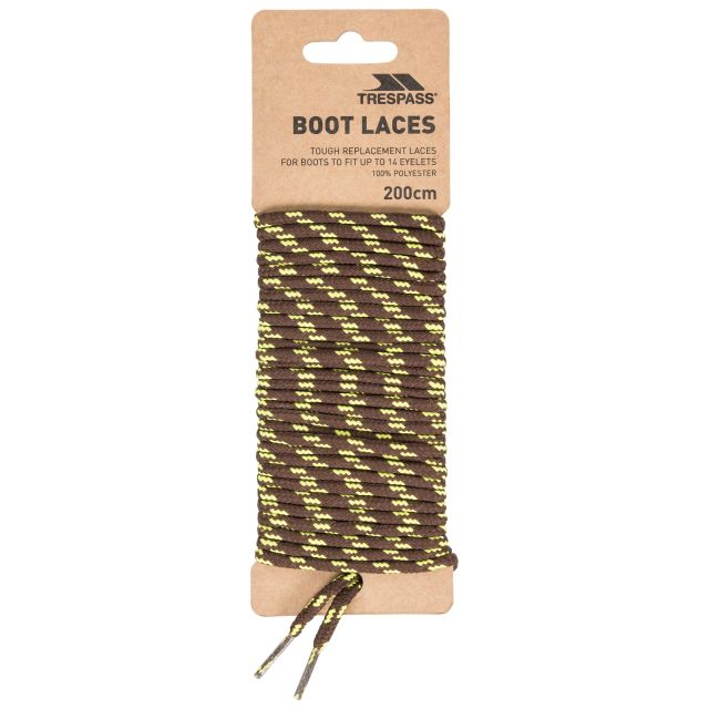Laces 200 - Round Laces 200cm in Brown