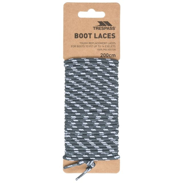 Laces 200 - Round Laces 200cm in Grey