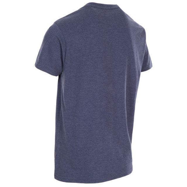 Trespass Men's Casual Short Sleeve Graphic T-Shirt Lakehouse Navy