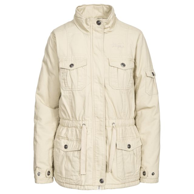 Trespass Womens Casual Jacket Lakewood in Beige