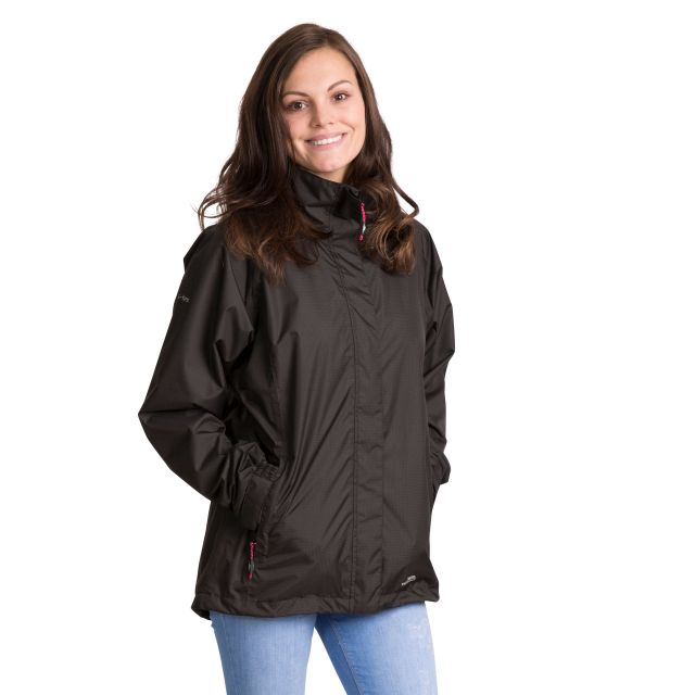Lanna II Women's Waterproof Jacket in Black