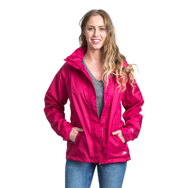 Trespass Womens Waterproof Jacket Lanna II in Pink