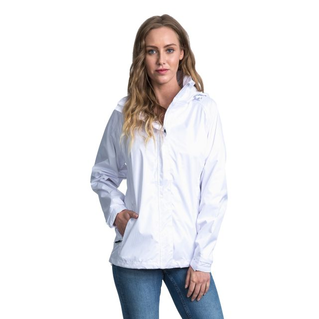 Trespass Womens Waterproof Jacket Lanna II in White