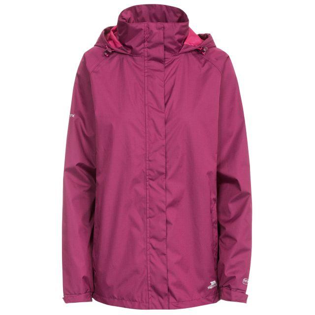 Lanna II Women's Waterproof Jacket in Burgundy