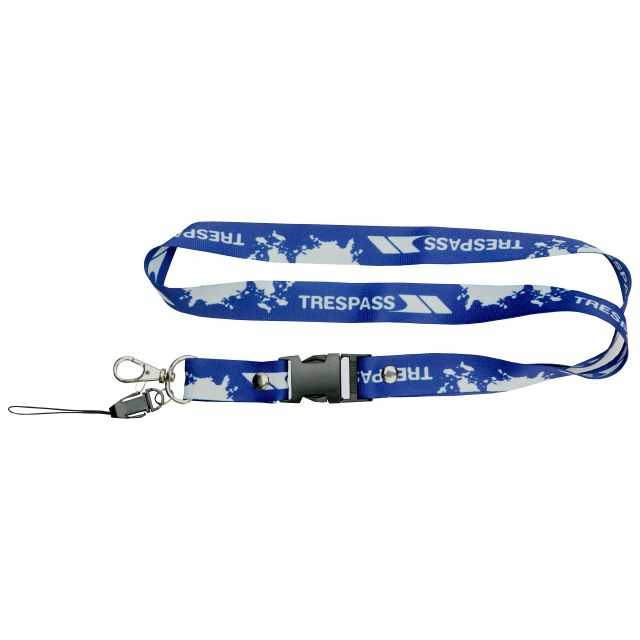 Printed Lanyard in Blue