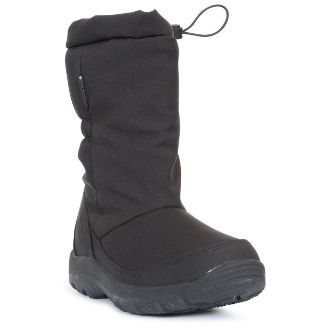 Lara II Women's Snow Boots in Black