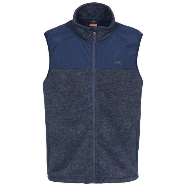 Leafminer Men's Gilet Fleece in Navy