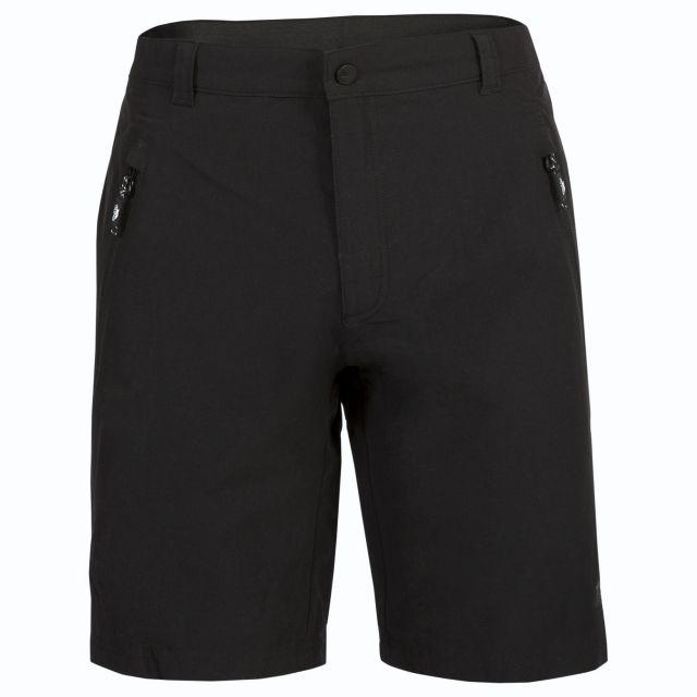 Leland Men's Hiking Shorts in Black
