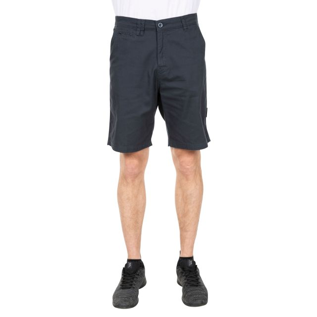 Leominster Men's Cotton Shorts in Navy