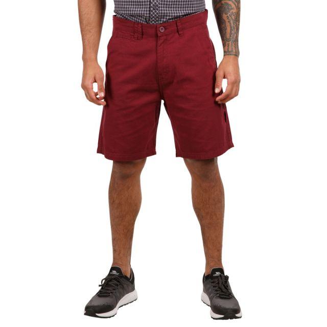 Leominster Men's Cotton Shorts in Purple