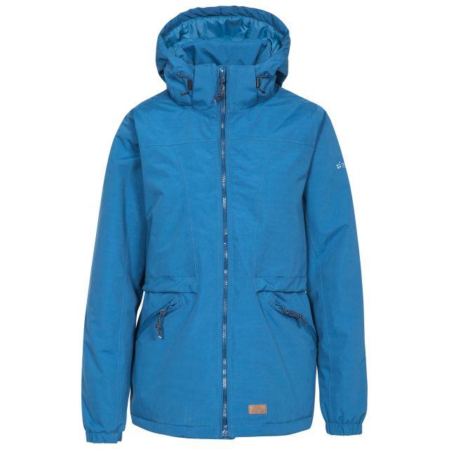 Trespass Womens Waterproof Jacket Windproof Liberate in Blue