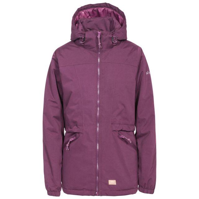 Trespass Womens Waterproof Jacket Windproof Liberate in Purple