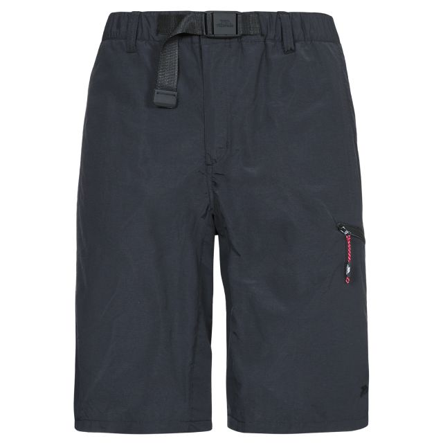 Lipeck Men's Cargo Shorts in Black