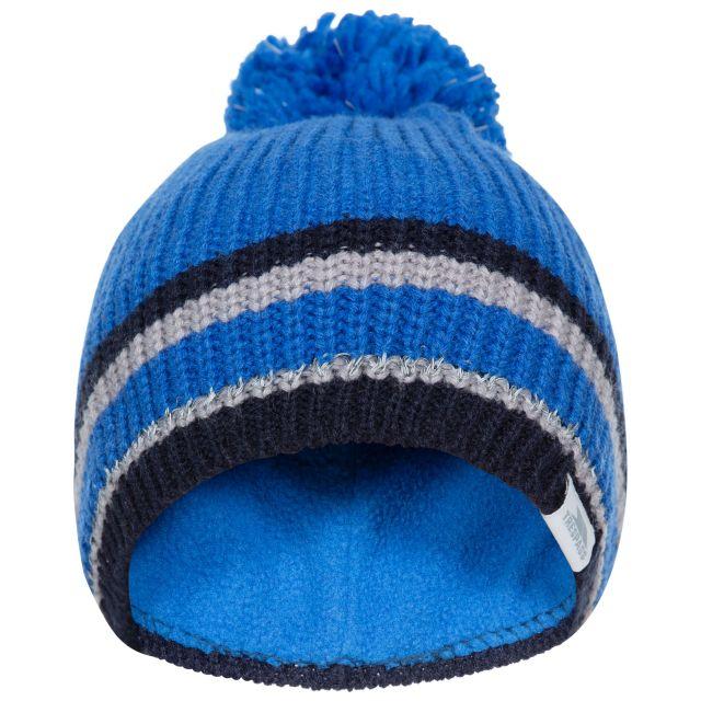 Lit Kids' Bobble Hat in Blue