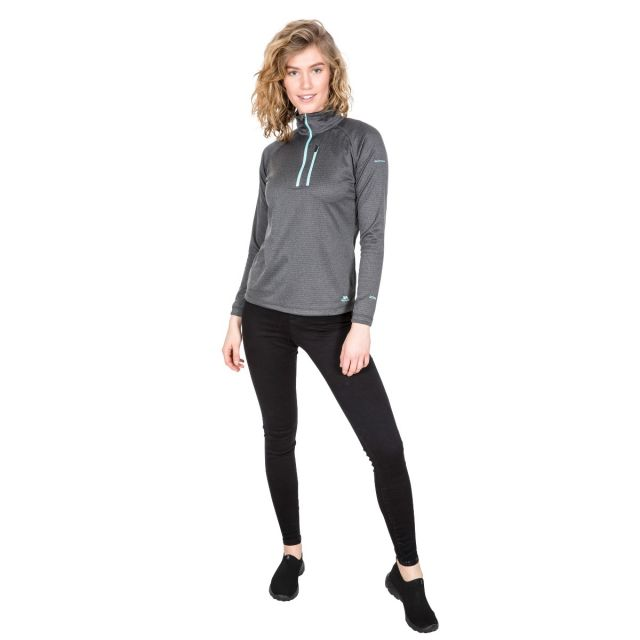 Lopez Women's 1/2 Zip Fleece in Grey
