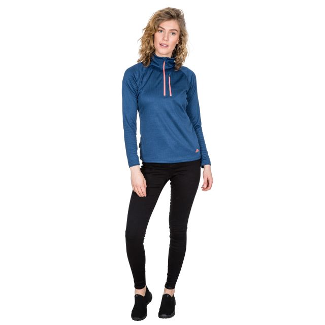 Lopez Women's 1/2 Zip Fleece in Navy