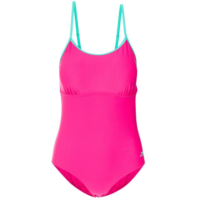 Lotty Women's Printed Swimming Costume in Pink