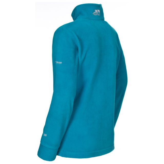 Louviers Kids' Half Zip Fleece in Blue