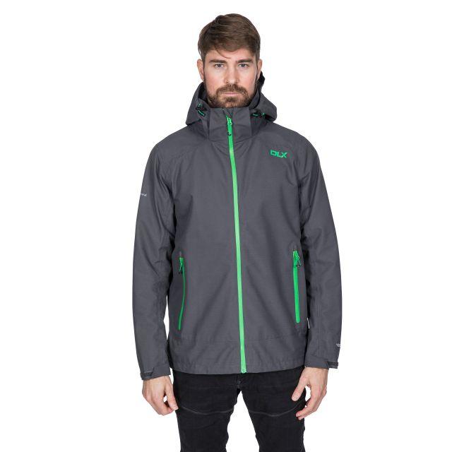 Lozano Men's DLX Waterproof Jacket in Grey