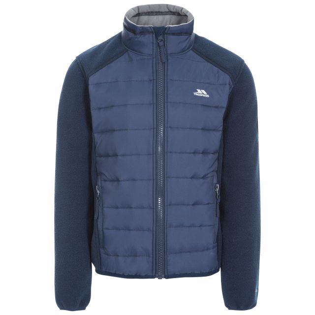 Ludvig Kids' Padded Fleece Jacket in Navy