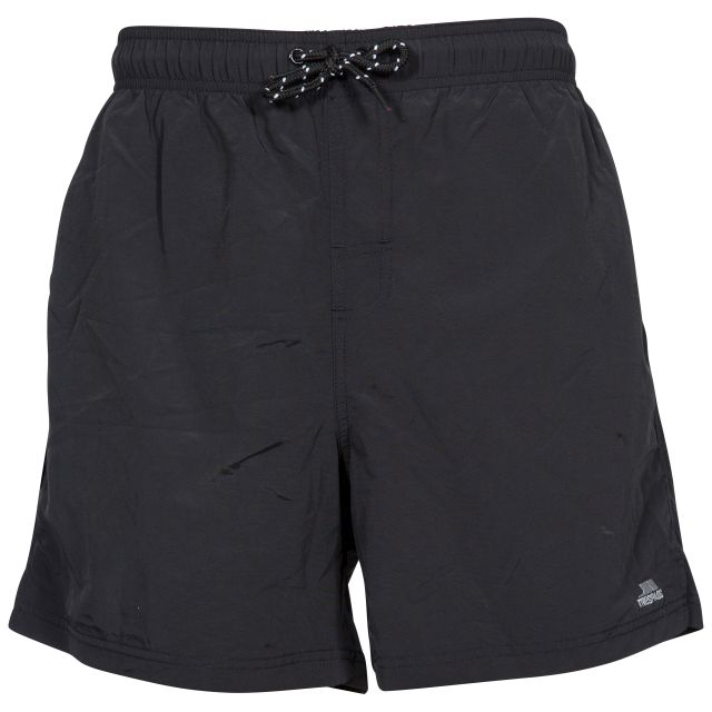 Luena Men's Casual Swim Shorts in Black