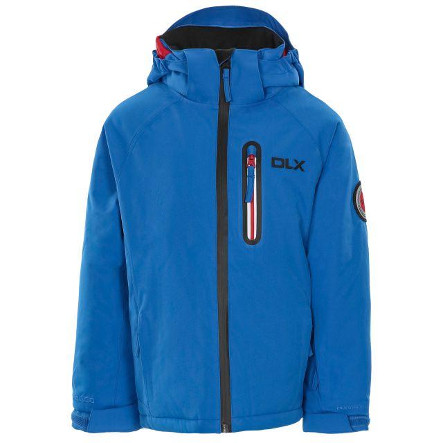 Luwin Kids' DLX RECCO Ski Jacket - BLU