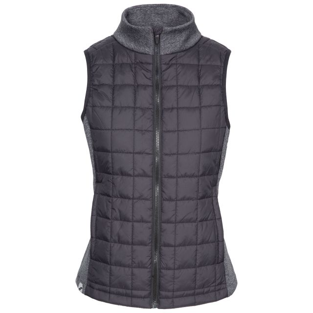 Lyla Women's Padded Gilet in Black