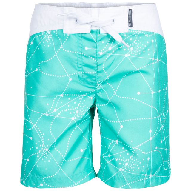 Mabel Kids' Swim Shorts in Light Blue