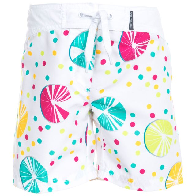 Mabel Kids' Swim Shorts in Pink