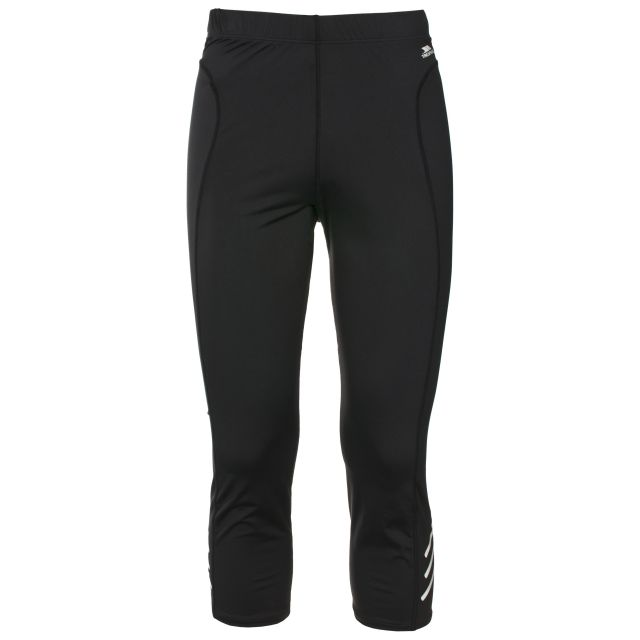 Strike Men's 3/4 Length Active Leggings in Black