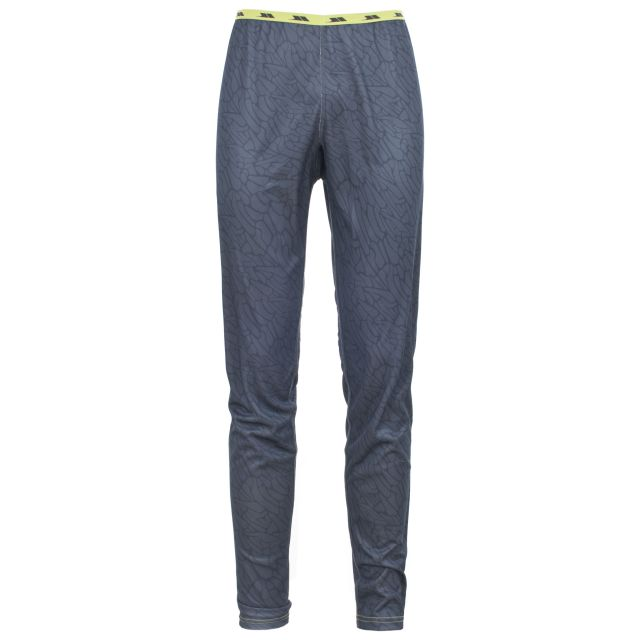 Hallow Mens Base Layer Pants in Grey