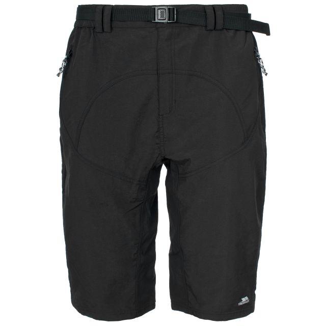 Lomas Mens Black Active Shorts