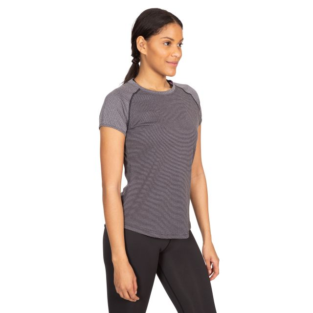 Maddison Women's Active T-Shirt in Dark Grey