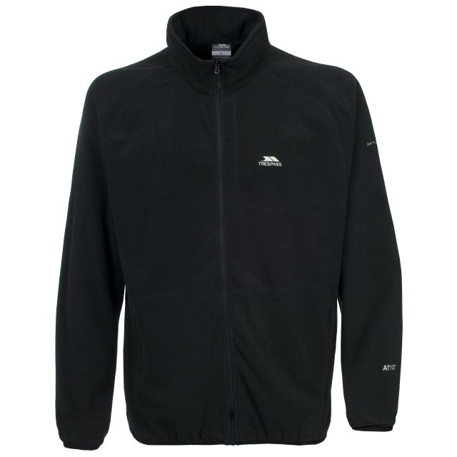 Gladstone Men's Microfleece Jacket in Black