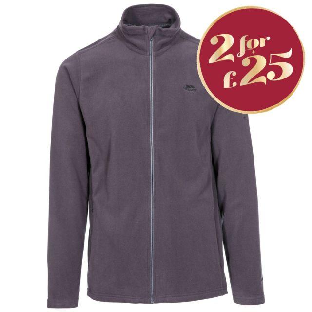 Tadwick Men's Fleece Jacket in Grey