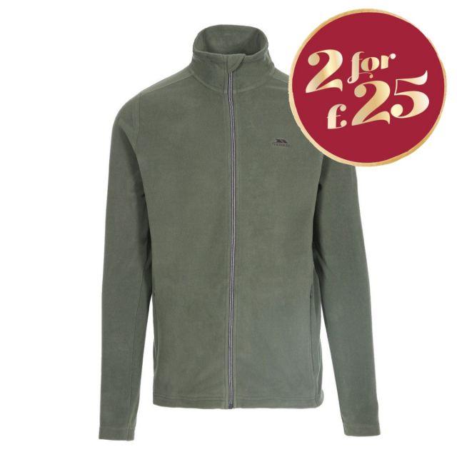 Tadwick Men's Fleece Jacket in Green