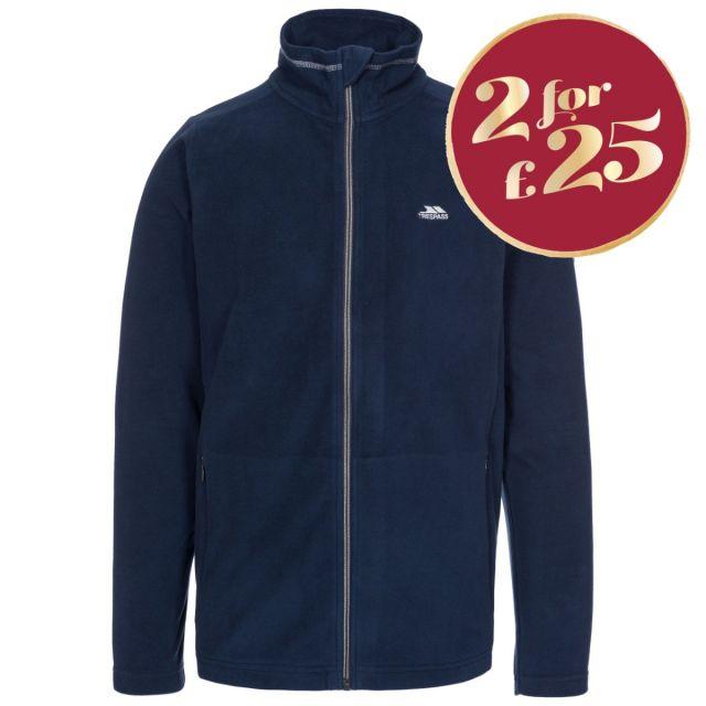 Tadwick Men's Fleece Jacket in Navy