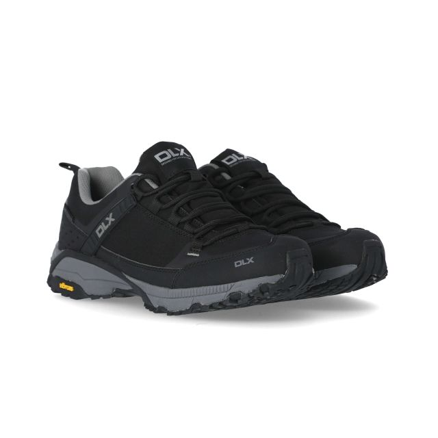 Magellan Men's DLX Vibram Walking Shoes in Black