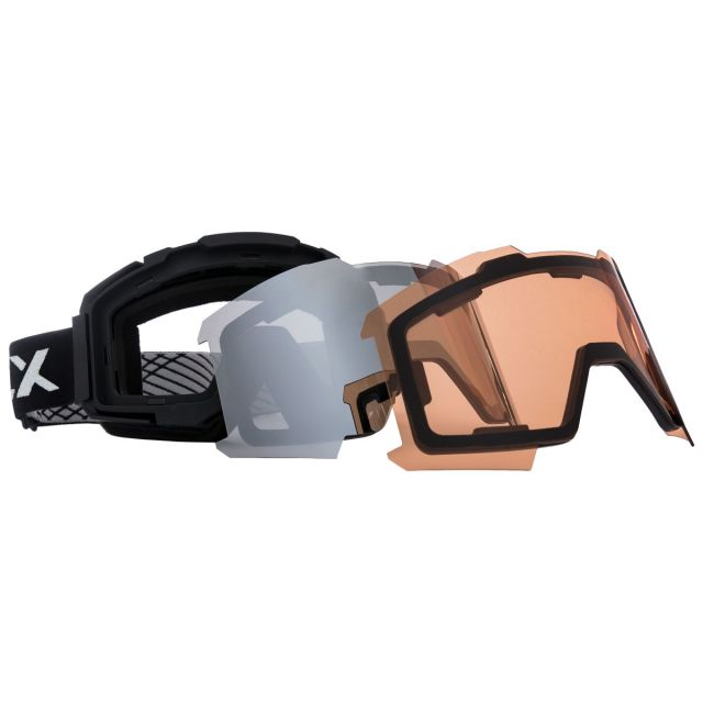 Magnetic DLX Changeable Lens Ski Goggles - BLX