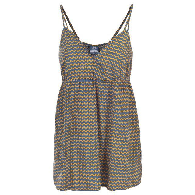 Mags Women's Sleeveless T-Shirt in Blue