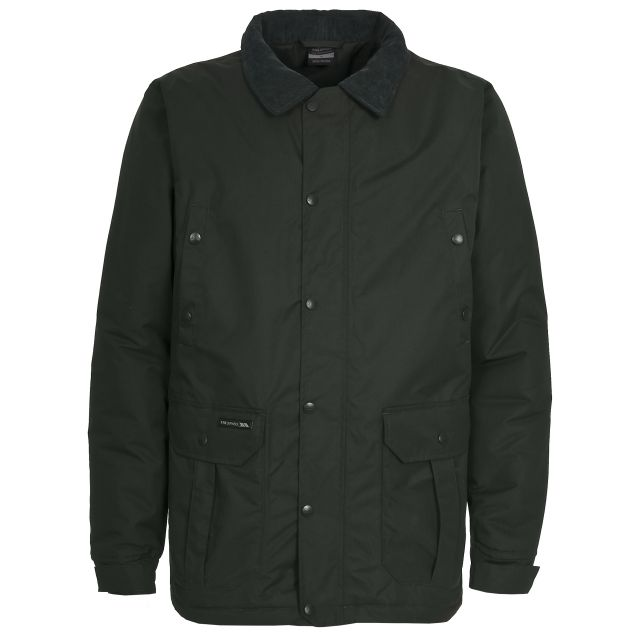 Laird Mens Casual Jacket in Khaki