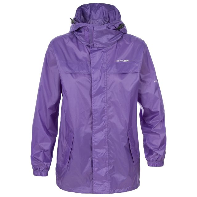 Packa Unisex Waterproof Packaway Jacket in Light Purple